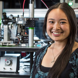 Sarah Lum wins Young Scientist Award