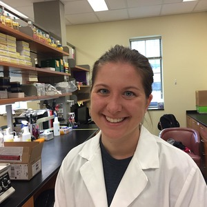Senior biochemistry major a co-author on ovarian cancer paper